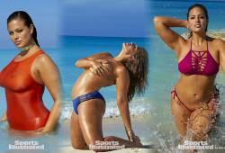 Plus de photos d'Ashley Graham en bikini pour Sport Illustrated