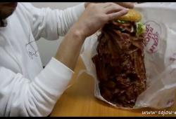 1050 tranches de Bacon dans un Whooper du Burger King