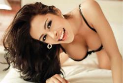 La plus sexy fan du Paraguay, Larissa Riquelme