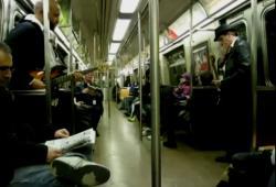 Reprise de Super Mario dans le métro