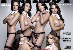 Hôtesses de l'air Mexicana qui posent nues dans Playboy