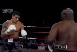 Sonny Bill Williams combat Clarence Tillman