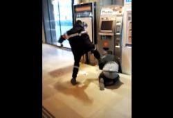 Un agent de sécurité tabasse un homme dans la gare d'Amiens