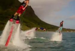 Un nouveau fun aquatique : le flyboard