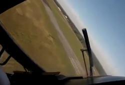 Atterrissage extrême d'un avion
