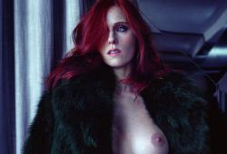 Audrey Fleurot pose nue pour le magazine LUI
