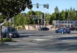 Un automobiliste coincé sauvé par un policier à la dernière seconde