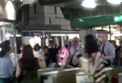 Un passager irlandais ensanglanté au BTS de Bangkok