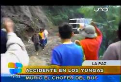 Accident : un bus tombe dans un ravin en Bolivie
