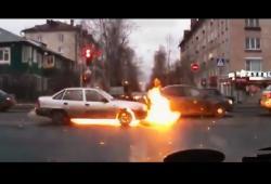 Compilation d'accidents filmés à la Dash Cam