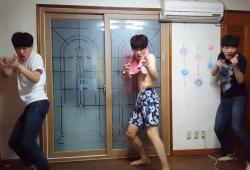 Un coréen se multiplie pour faire des chorégraphies WTF