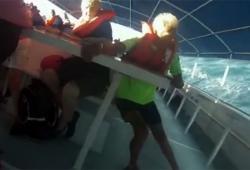 Le naufrage d'un bateau au Costa Rica filmé par une passagère