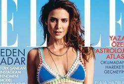 Eden Adar pose pour le magazine ELLE turc
