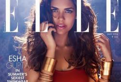 Esha Gupta pose pour le magazine ELLE India