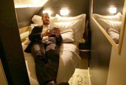 Il teste la classe The Residence à 32 000 euros dans un avion d'Etihad