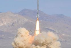 Un missile fait maison atteind l'espace