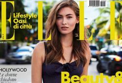 Grace Elizabeth pose pour le magazine ELLE Italie
