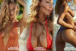 Hannah Ferguson pose pour Sport Illustrated Swimsuit 2016