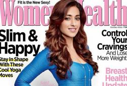 Ileana D'Cruz pose pour le magazine Women's Health