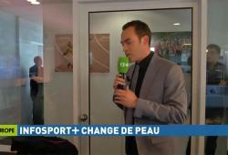 Un journaliste d'Infosport se prend une porte dans la tête