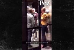 Justin Bieber se bat avec un autre homme dans son hôtel