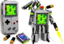 Lego Gameboy Transformers