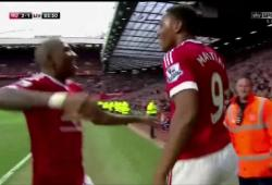Premier but d'Anthony Martial avec Manchester United