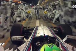 Felipe Massa fait un arrêt de seulement 2 secondes au stand