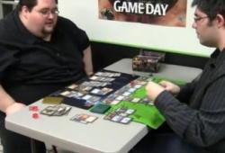 Mauvais perdant aux cartes Magic Gathering