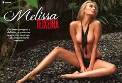 Melissa Teixeira pose pour le magazine Playboy Venezuela