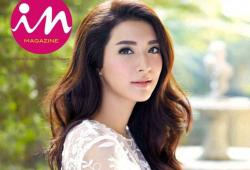 """Mew Nittha pose pour le magazine thaïlandais """"In"""""""