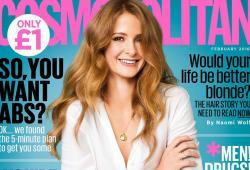 Millie Mackintosh pose pour le magazine Cosmopolitan UK