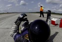 Roland Morisson atteind les 270 km/h en luge