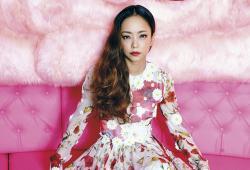 Namie Amuro pose pour le magazine Vogue Taiwan
