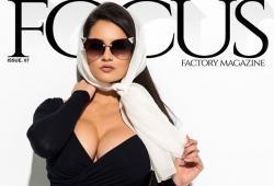 Pashence Marie pose pour le magazine Focus