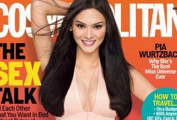 Miss Univers 2015, Pia Wurtzbach, pose pour Cosmopolitan Philippines