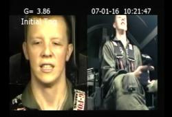 Un pilote perd connaissance dans un simulateur de forces G