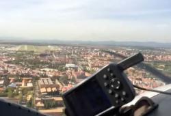 Un avion atterrit à Madrid avec ses trains bloqués