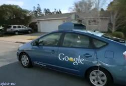 La Self-driving car de Google, une voiture pour aveugle