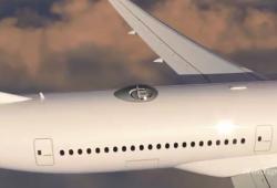Le skydeck permet d'avoir une vue imprenable en avion