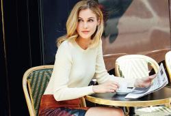 Sofia Forsman pose pour le magazine Marie France