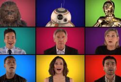 Jimmy Fallon reprend le thème de Star Wars avec ses acteurs