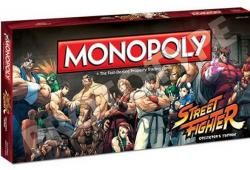 Sortie prochaine du Monopoly Street Fighter