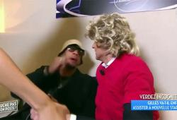 Gilles Verdez se fait frapper par Joey Starr (TPMP)