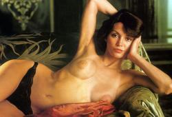 Victoria Principal, de la série Dallas, nue dans le magazine Playboy