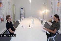 Zlatan Ibrahimovic fait passer un entretien d'embauche